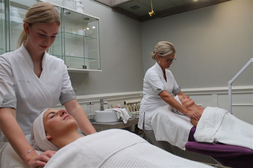 duo gezichtsbehandeling beauty center de Terp Hoogeveen